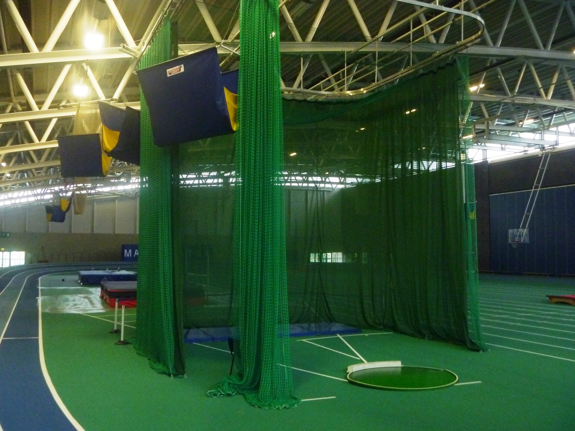 Indoor Throwing Areas