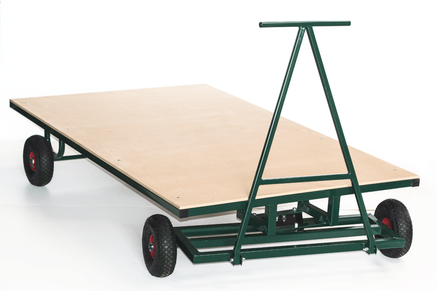 Large Flat Bed Trolley Athletics Direct