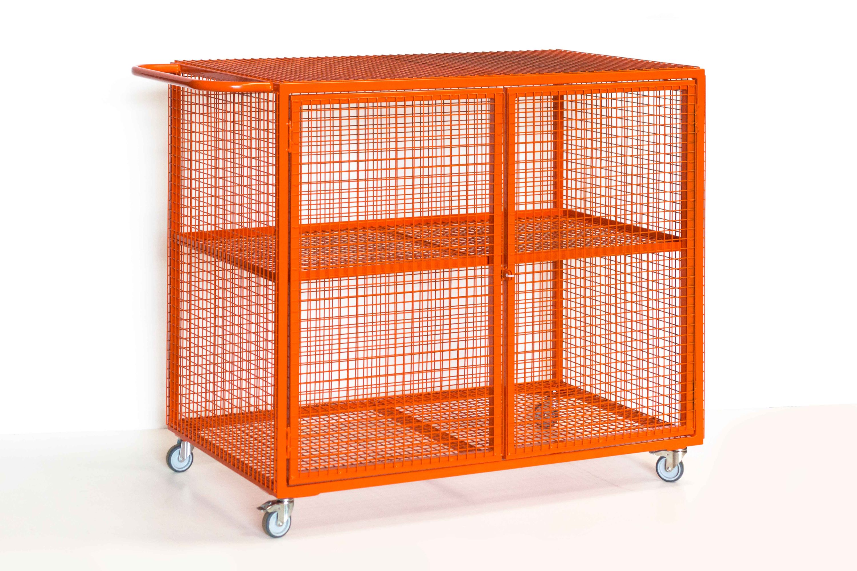 Mobile Storage Cages Athletic Direct