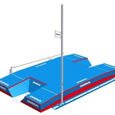 Foldable Pole Vault Uprights