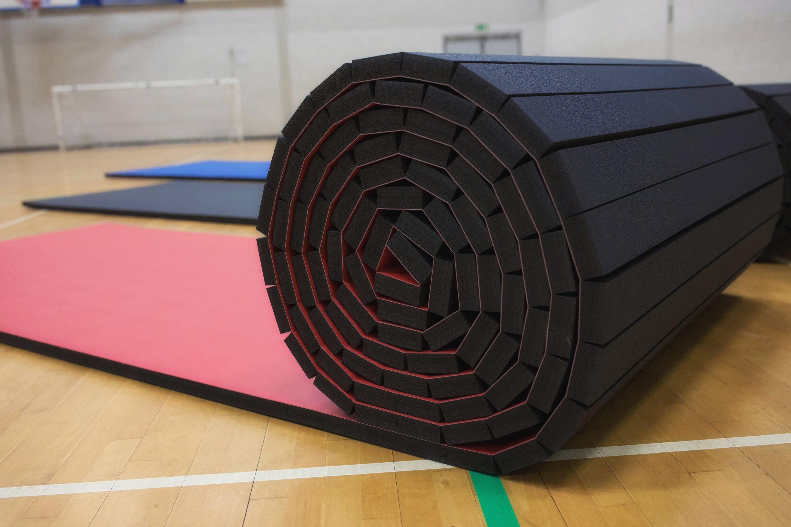 Promat Pvc Smooth Roll Out Mats Athletics Direct