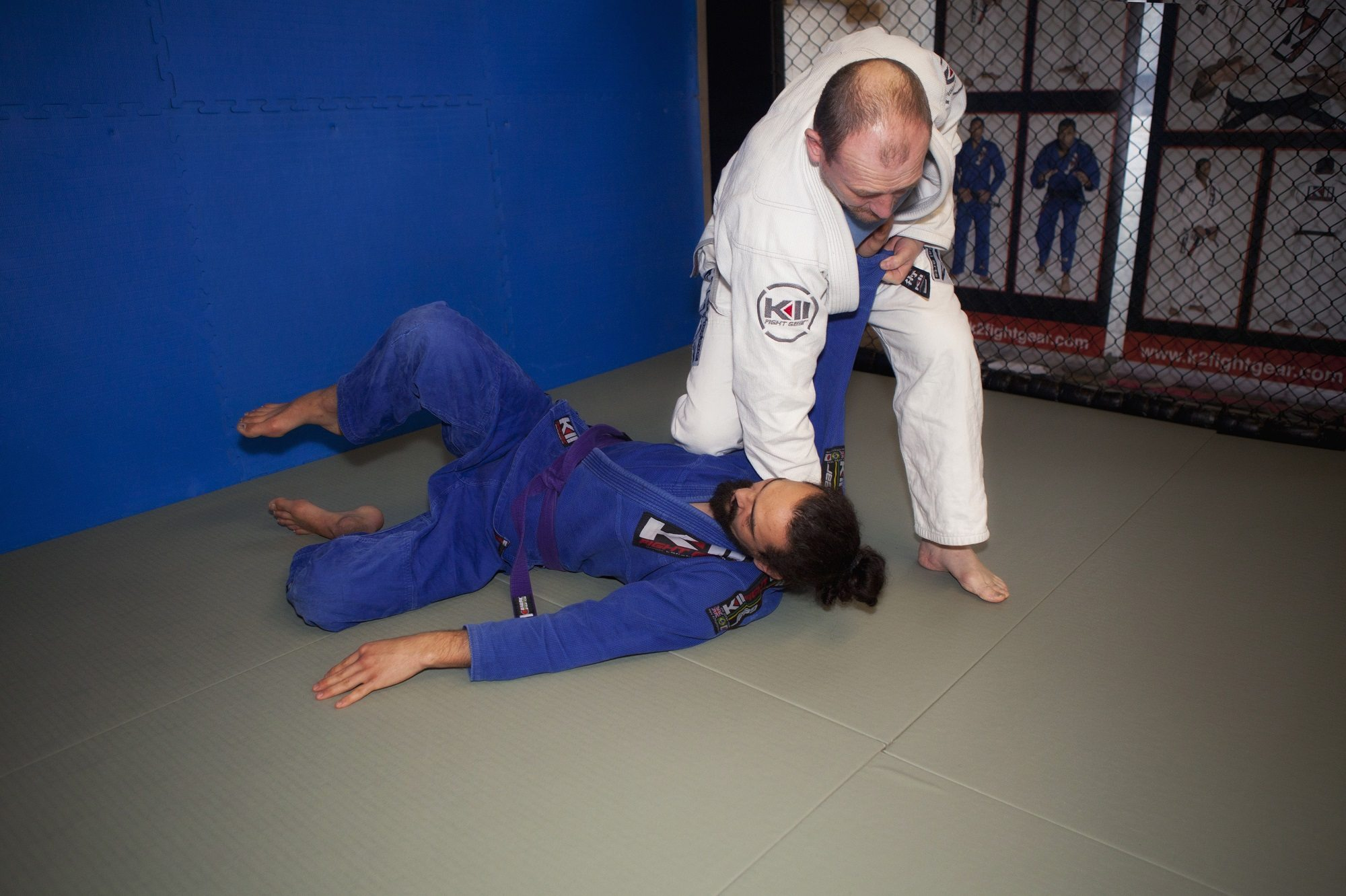 Throwing on Promat Judo Mats