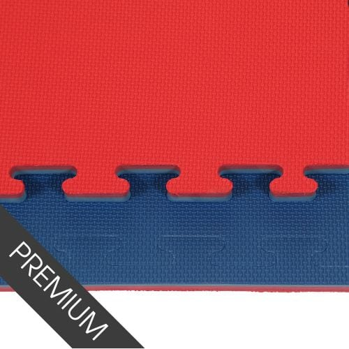 Image of Promat 20mm Red/Blue Jigsaw Mat - Standard Finish
