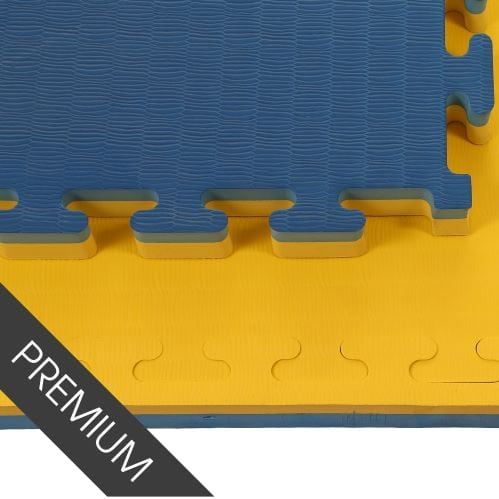 Promat Blue/Yellow 40mm Jigsaw Mats - Standard Finish