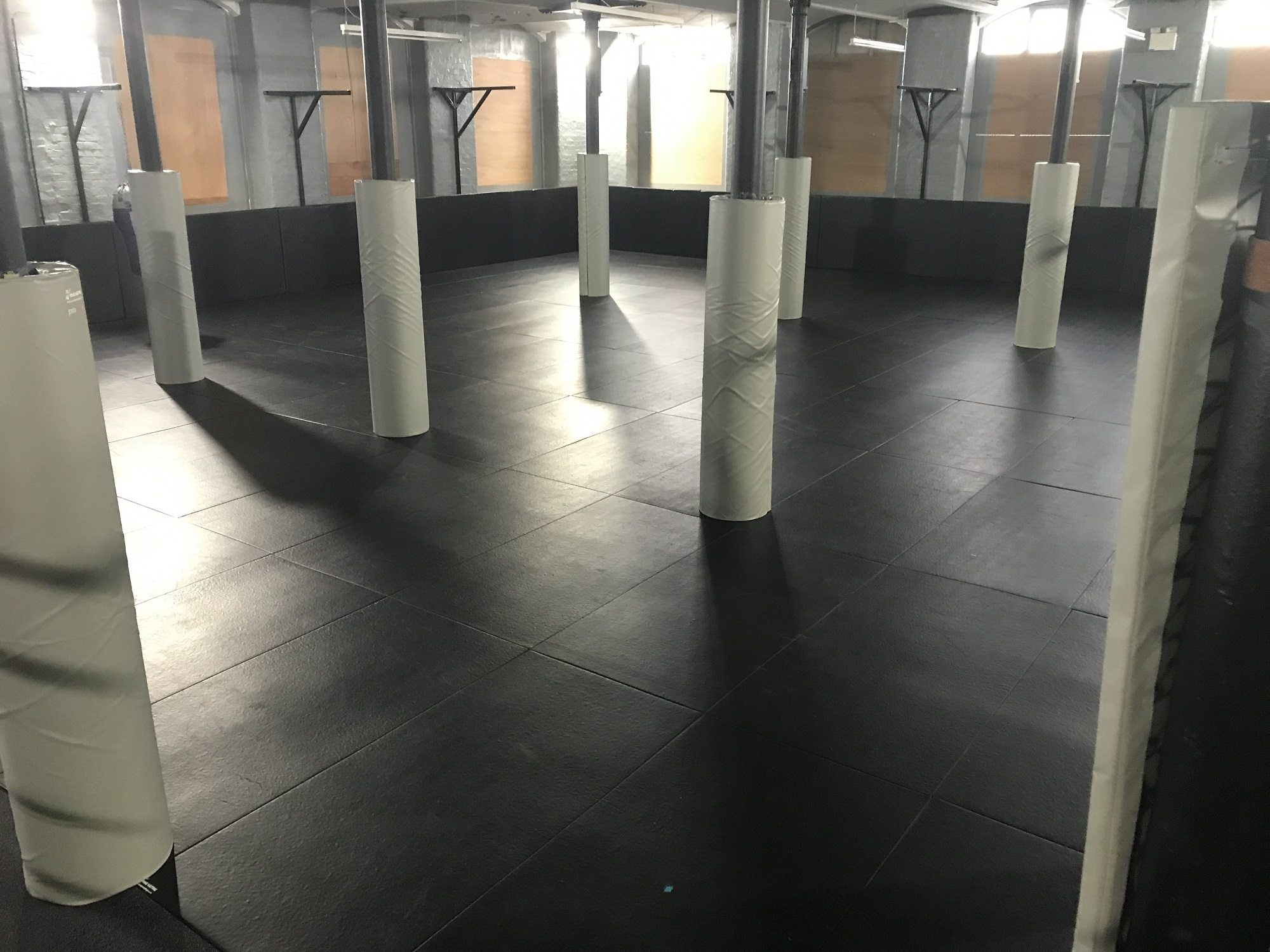 Elite Fitness Factory Dojo Installation