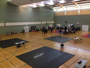 Promat Roll Out Mats at BJJ Competition