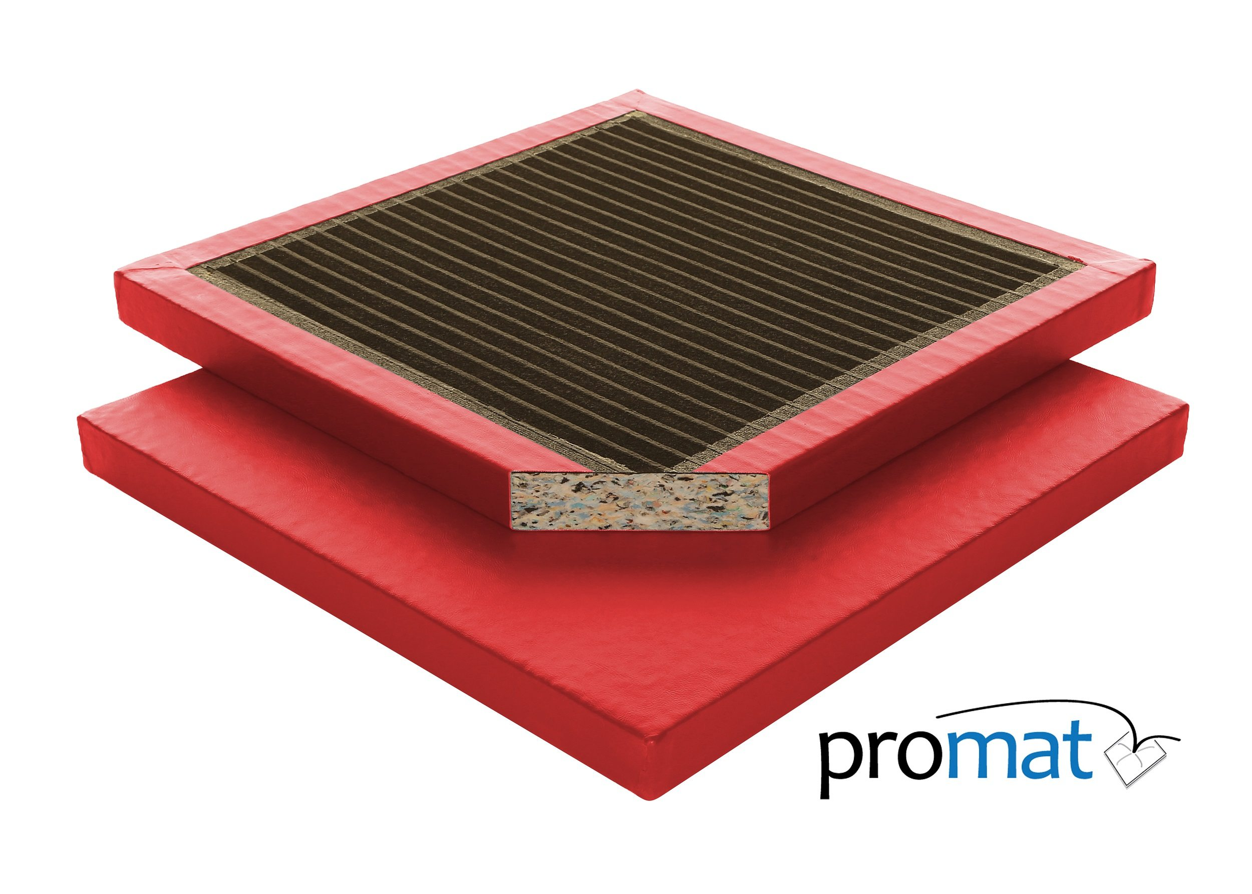 Promat Multipurpose Gym Mat - Red