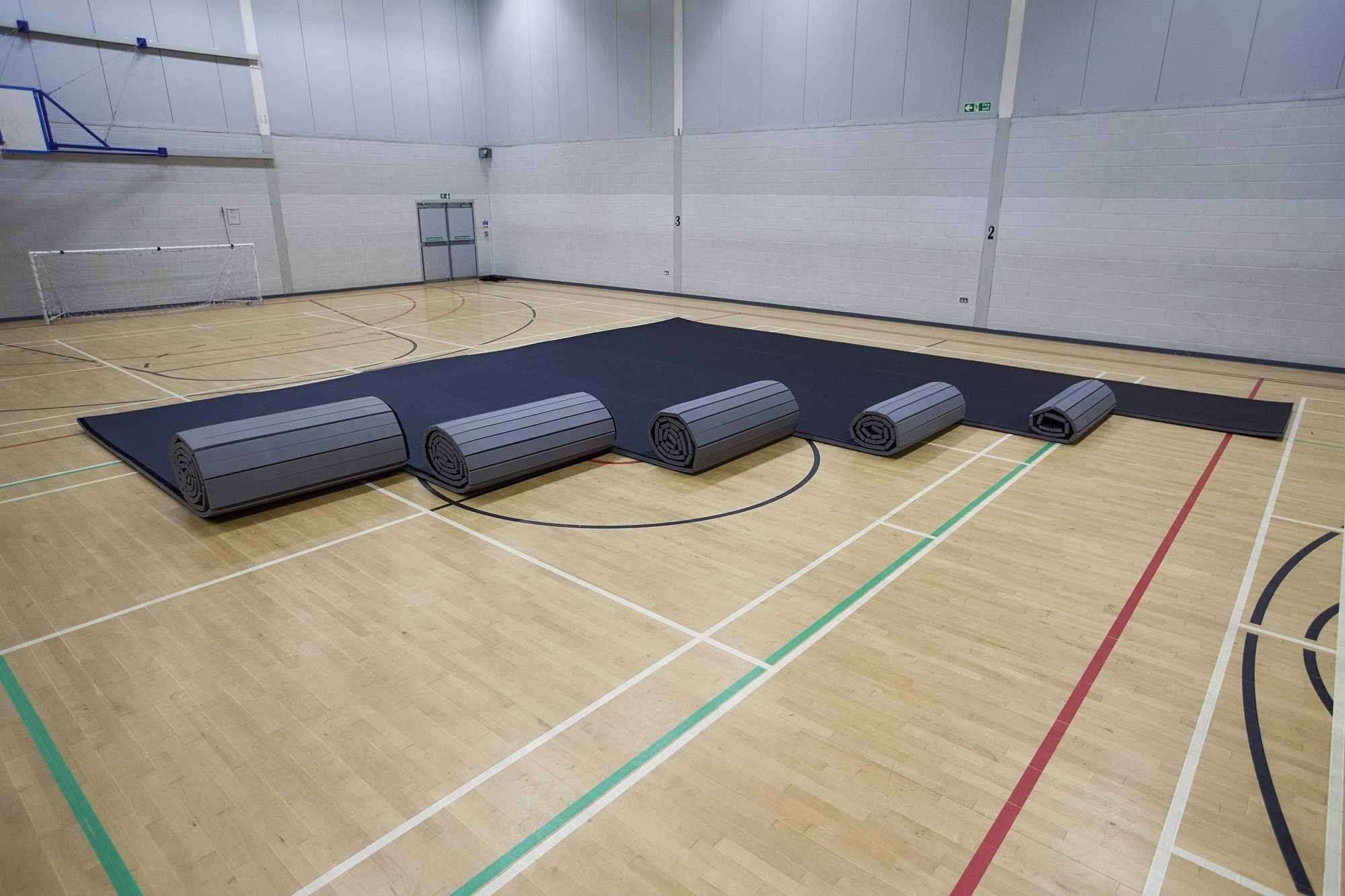 Promat PVC Tatami Roll Out Mat Connect