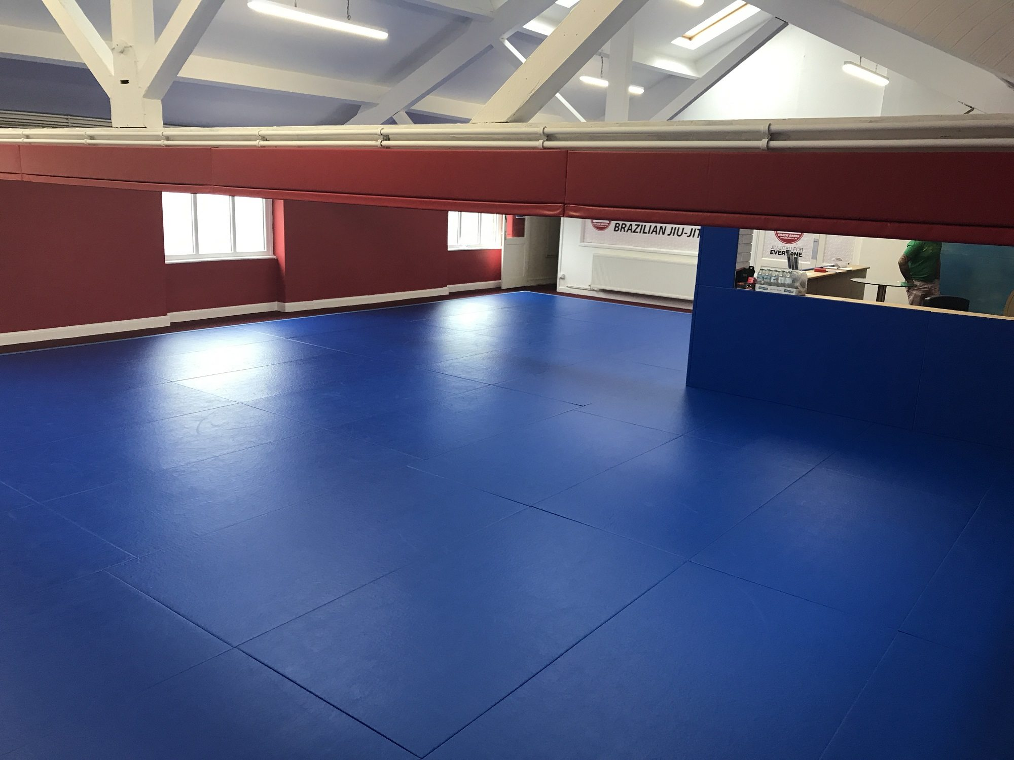 BJJ Mats for Gracie Barra
