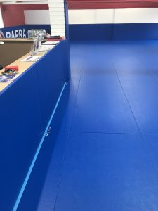 Matted Reception Area at Gracie Barra Chorley