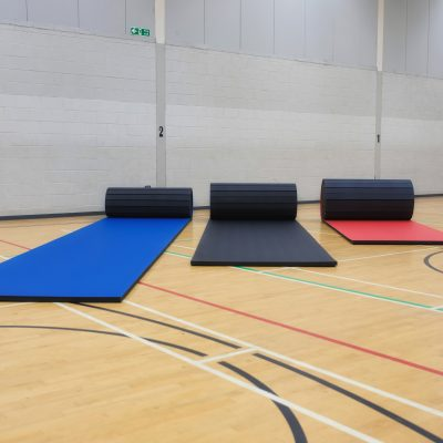 Trio of Promat PVC Smooth Roll Out Mats