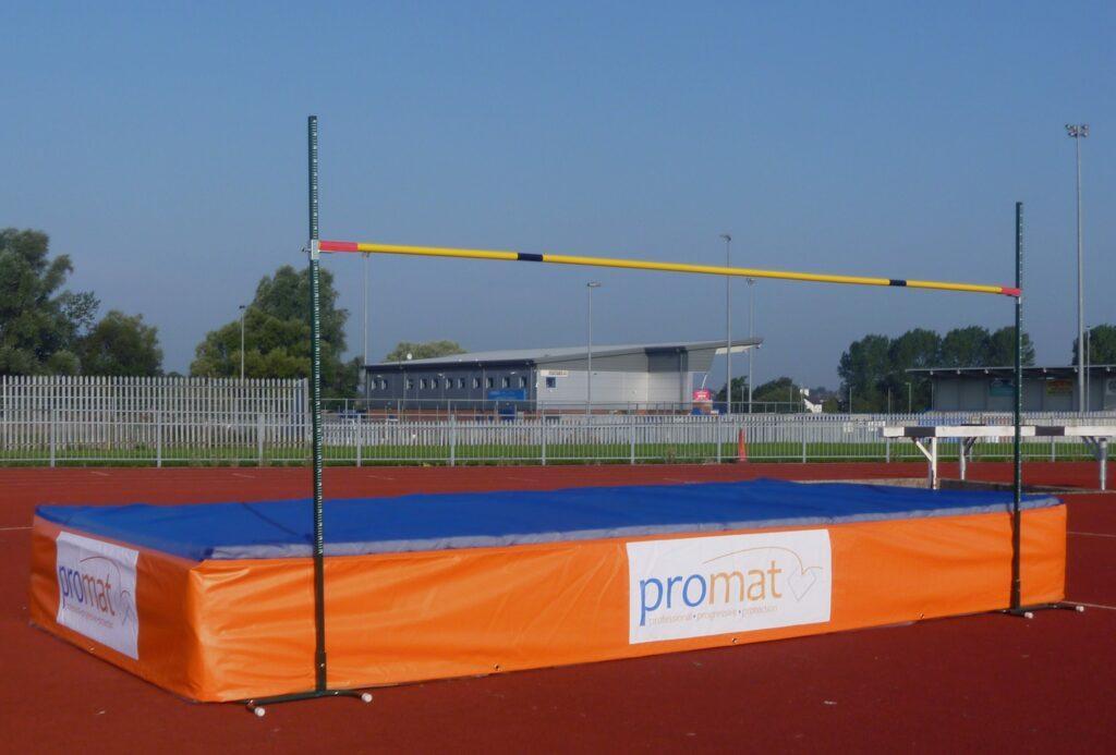Schools High Jump Mat 7 Modules Foams 4 Sports