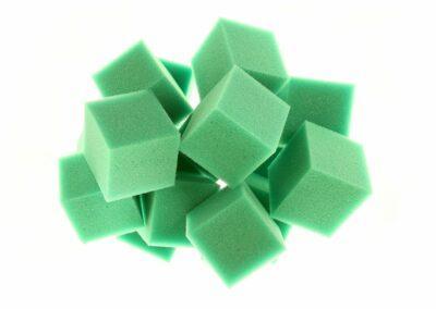 Foam Pit Cube Green web