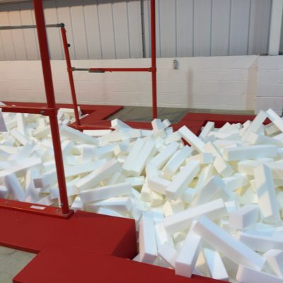 Gym Pit Foam Logs