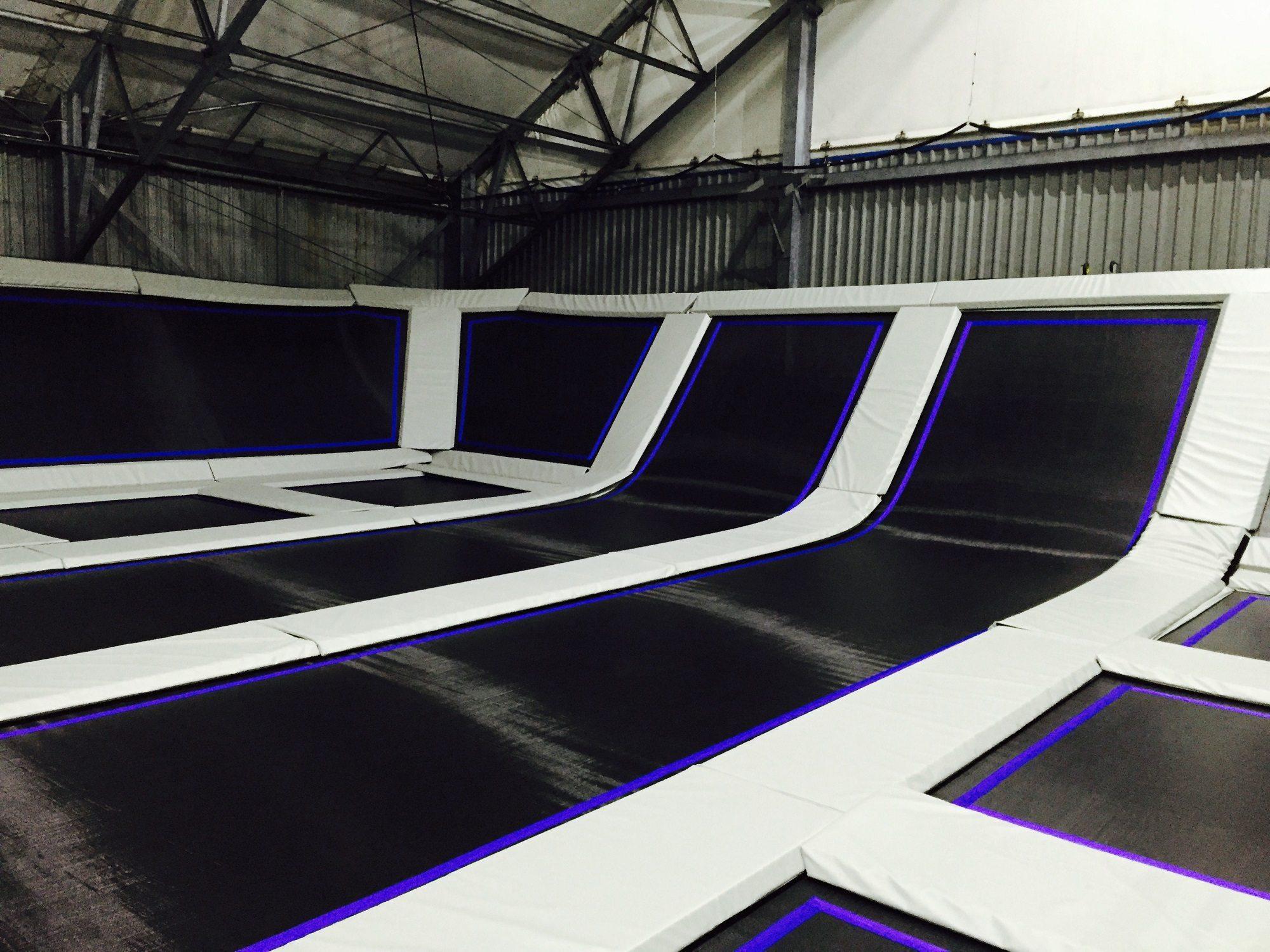 trampoline padding