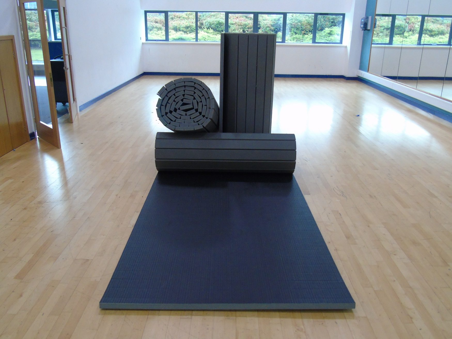 Roll Out Mats Martial Arts Matting Foams4sports Gym