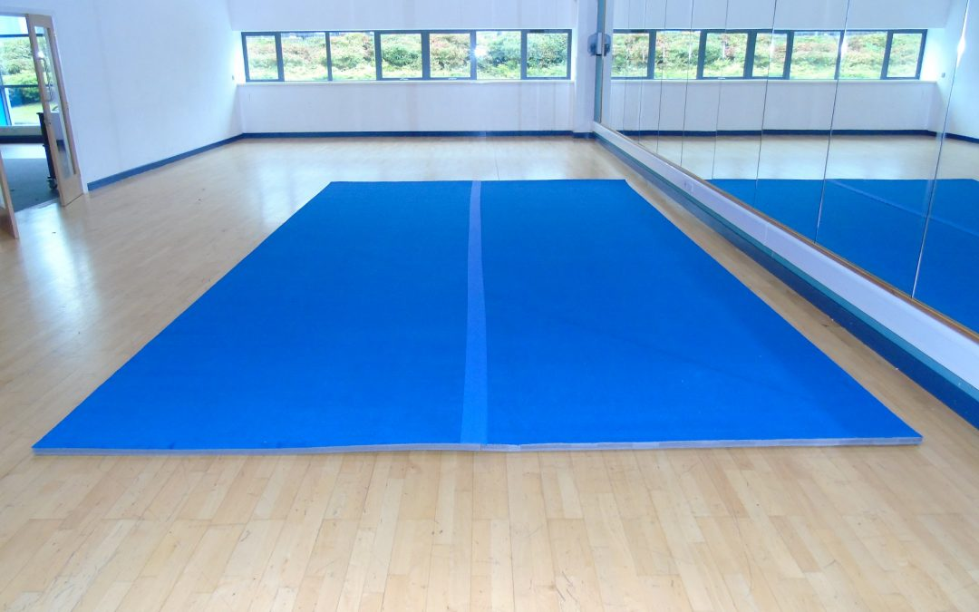 Why you should consider Carpet Roll Out Mats for Gymnastics and Cheerleading