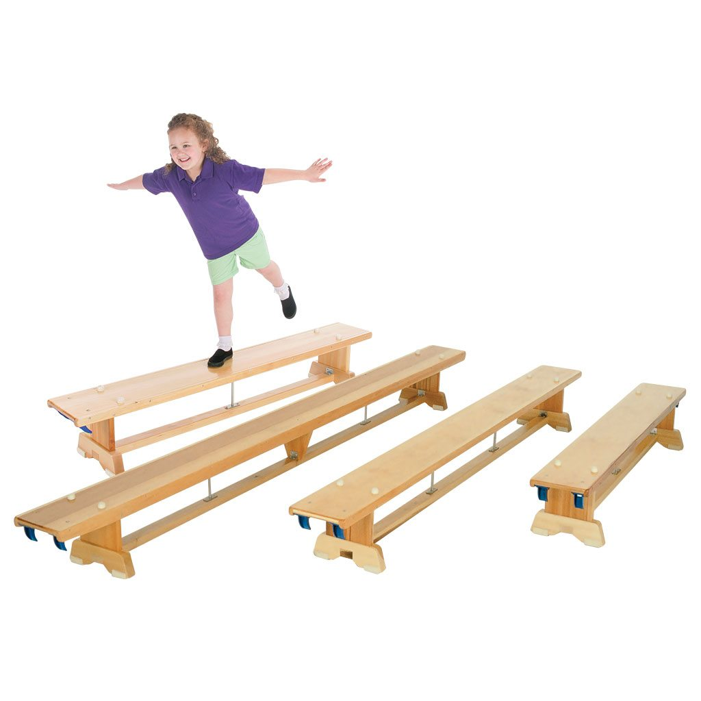 Traditional balance benches