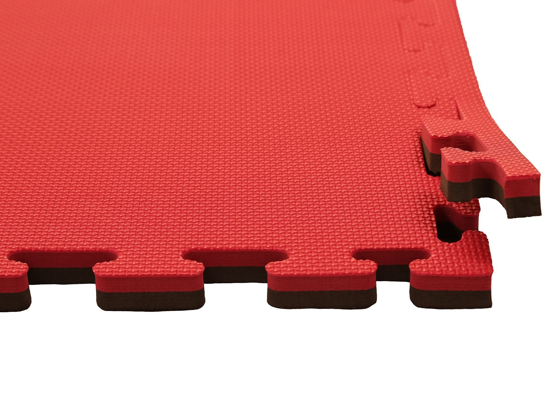 Promat 30mm Jigsaw Mats In Red Black Martial Arts Mats