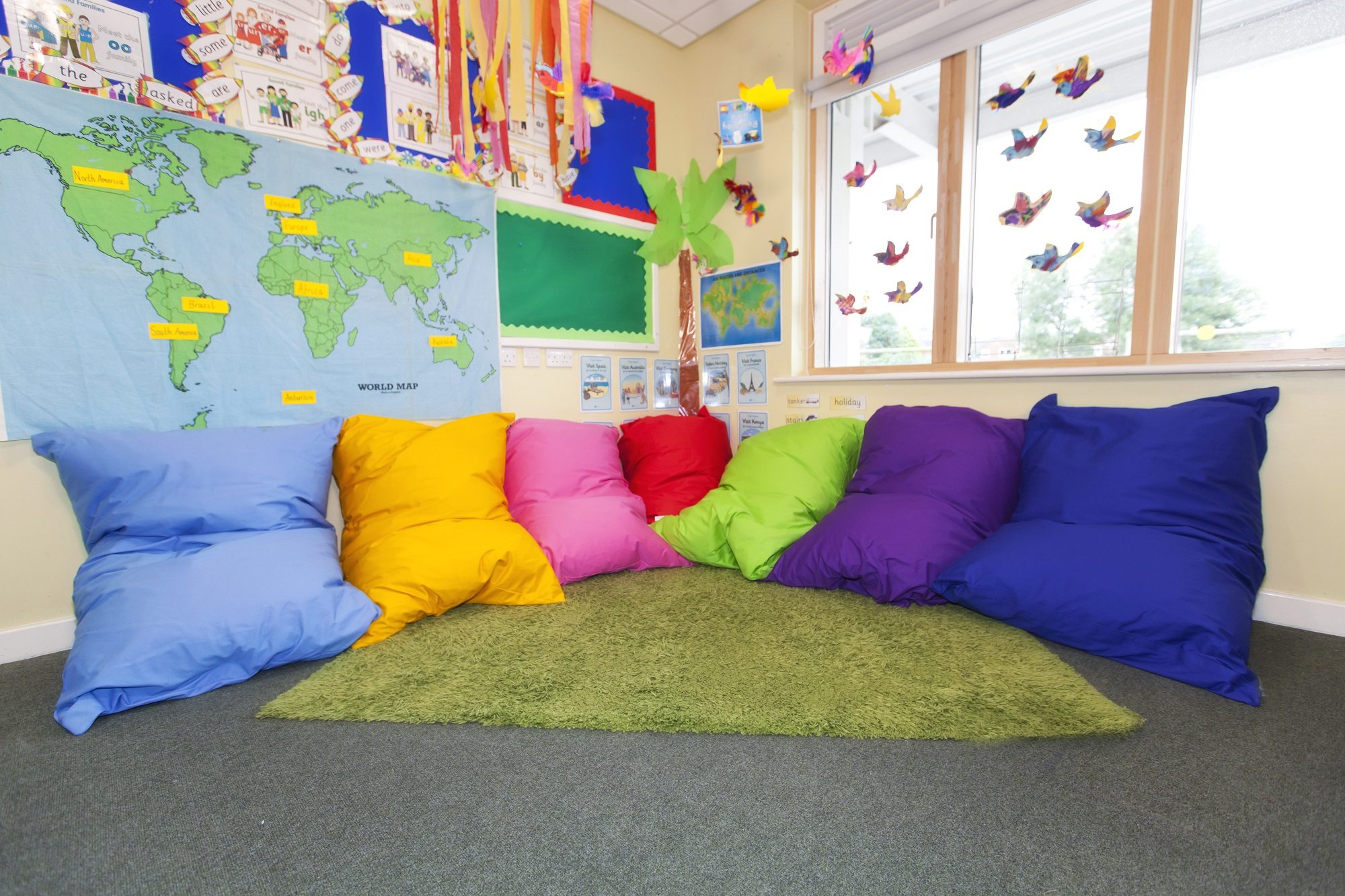 Giant Child Floor Cushion Cotton - Buy Bean Bags Online Today!