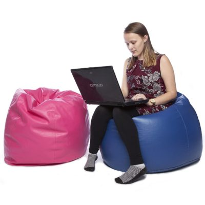Teen Bean Bag Faux Leather
