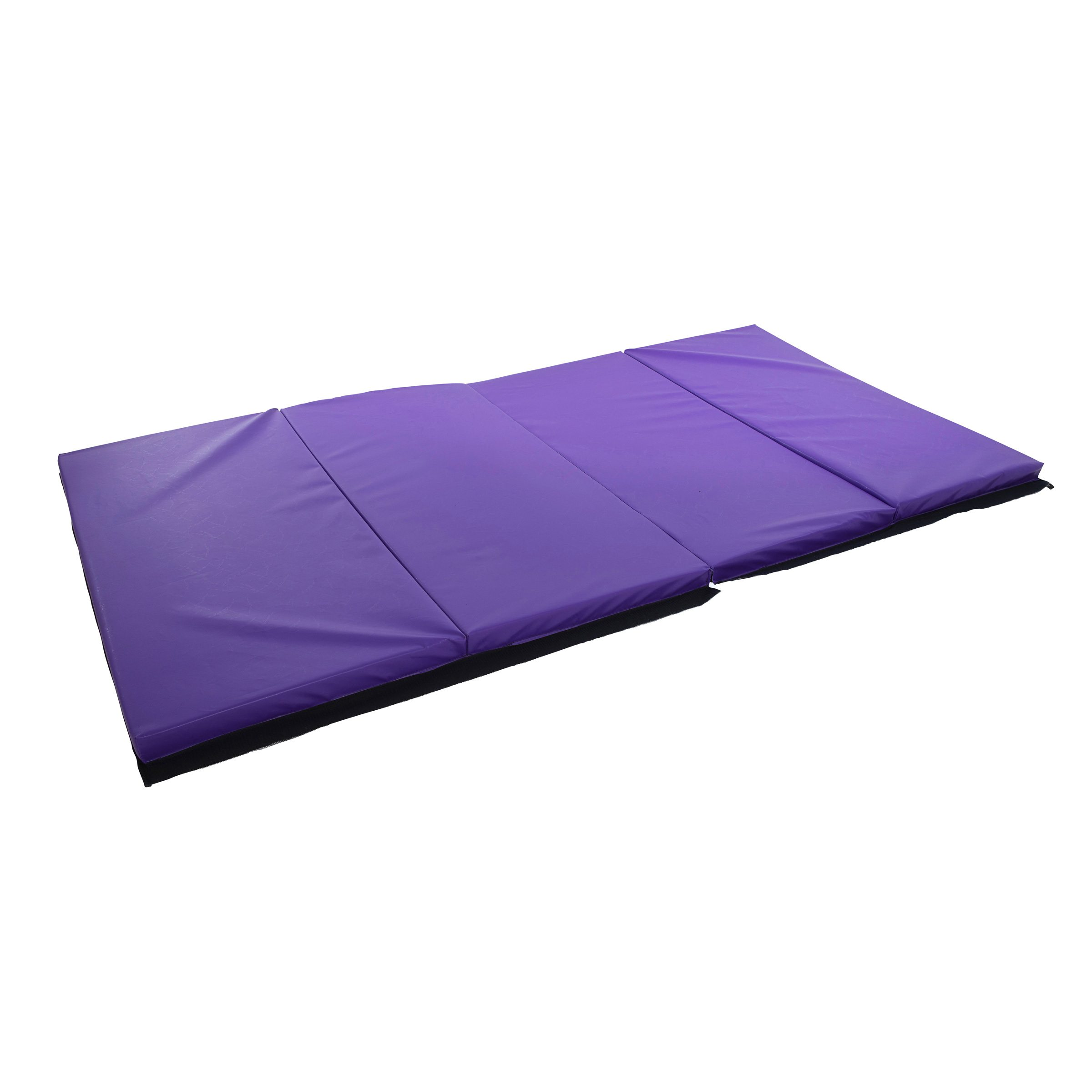 home purpose exercise gym general x athletic gymnastic athletics mat two days goods thick gymnastics sporting for purple panel presell folding fitness equipment mats