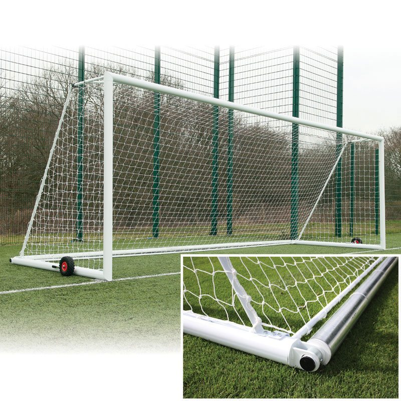 3G Original Aluminium Integral Weighted Football Goals