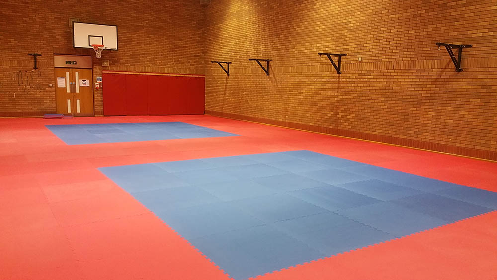 Northumbria Police Self Defence Training Matting Installation